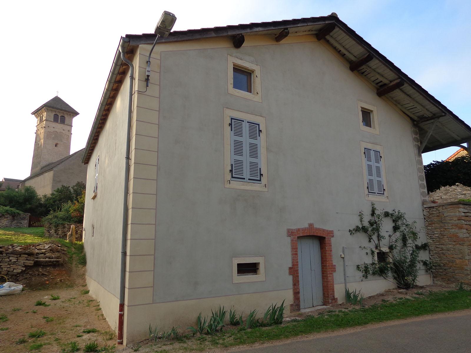 Travaux facades a la campagne