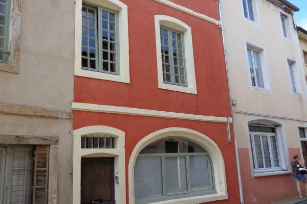 Rénovation facade couleur entreprise Lambert