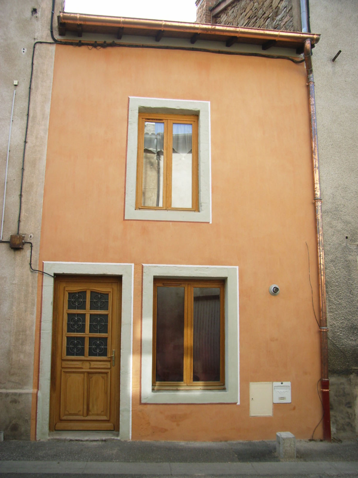 Rénovation facade a Cormatin Lambert Cyril