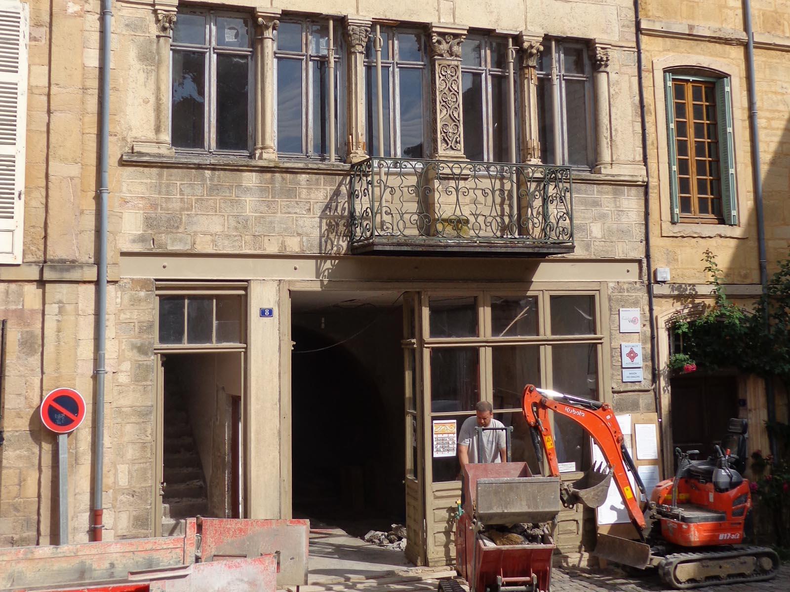 Rénovation patrimoine français Saône et Loire