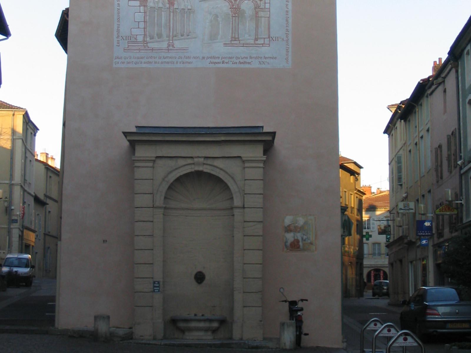 Restauration des monuments Lambert Cyril