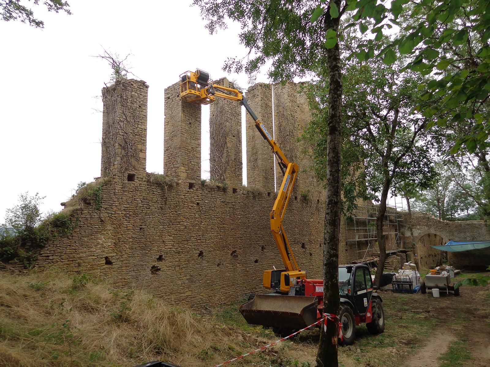 Lambert Cyril Cluny Etrigny Mancey Lournand Chateau Lourdon